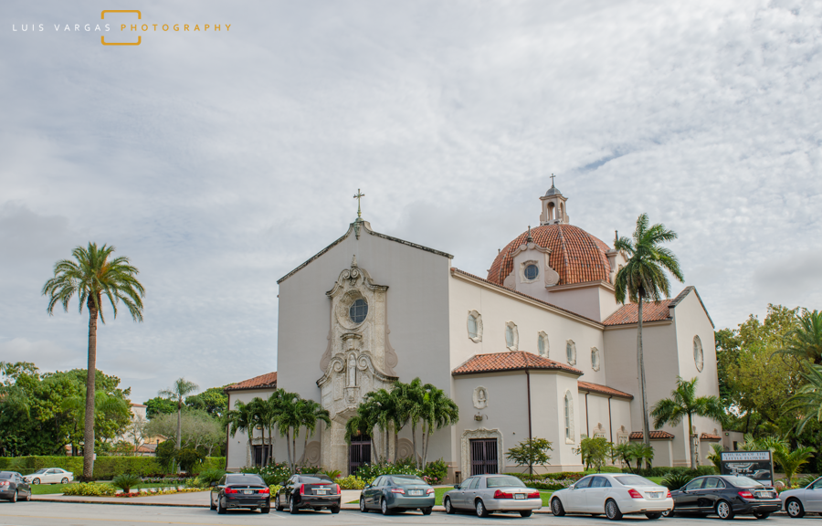 Church of the Little Flower in Coral Gables