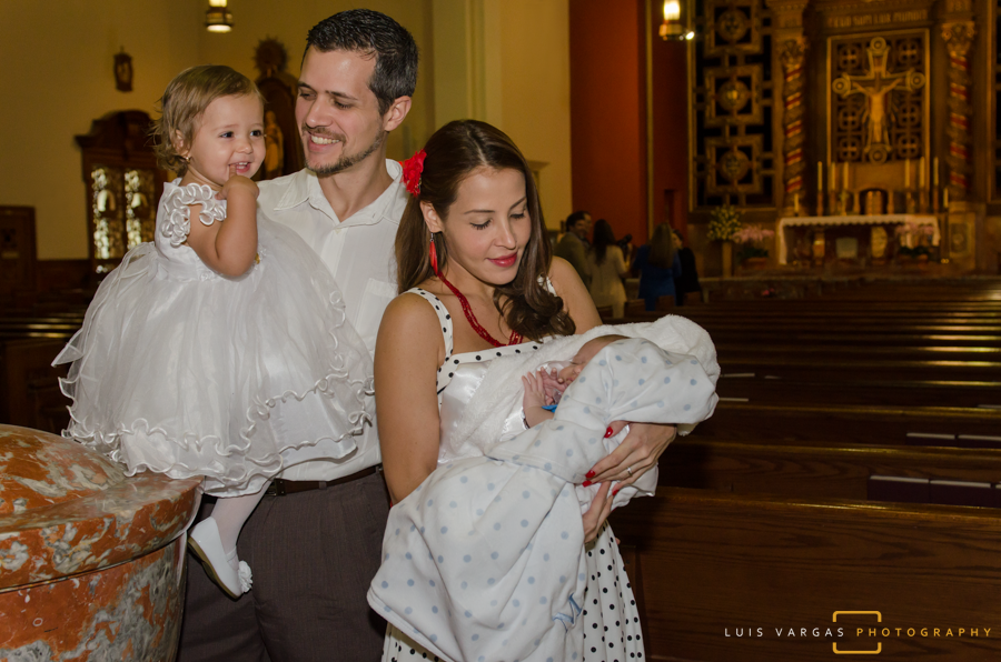 Ceci and Marco's Baptism at the Church of the Little Flower in Coral Gables