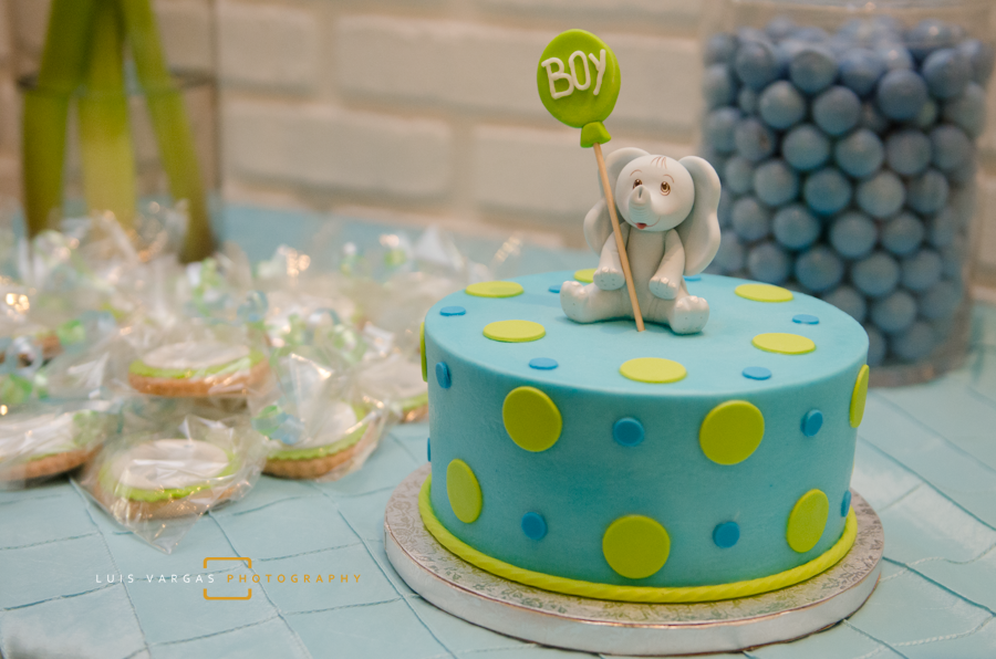 Baby Shower Cake & Candy