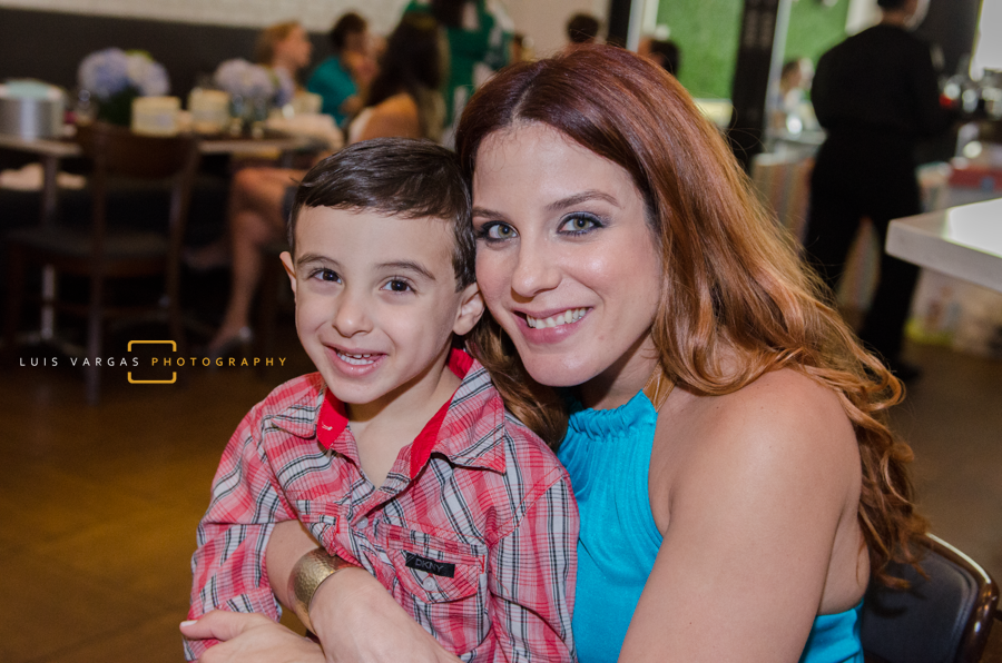 Desiree with son Frankie