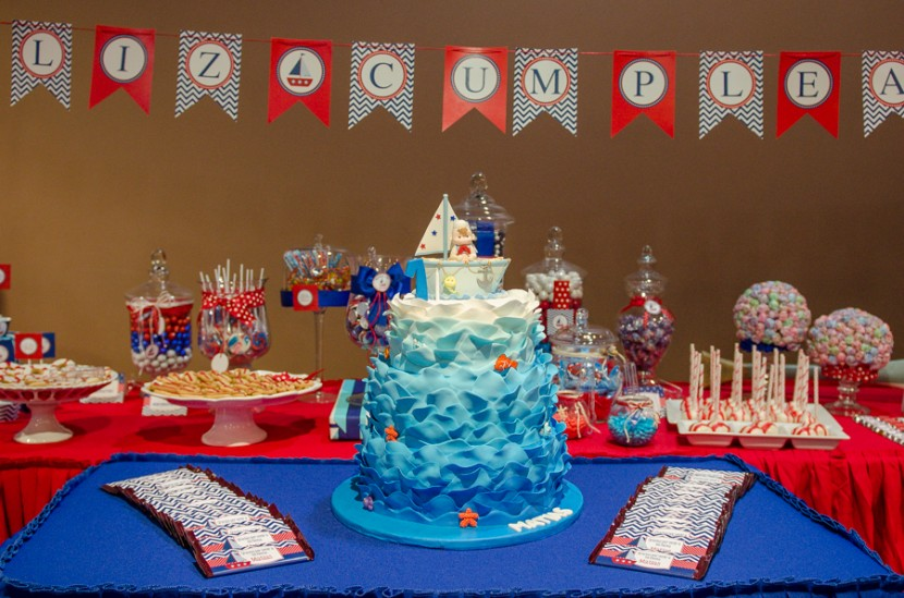Matias Sailor Theme 1st Birthday Party In Doral Luis
