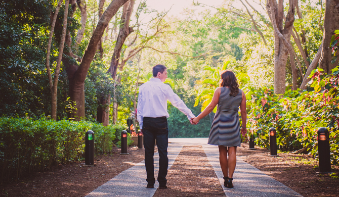 Engagement Sessions at Deering Estate in Miami