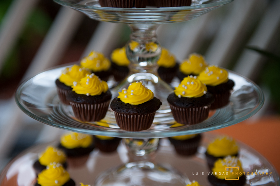 mini cupcakes for the guests