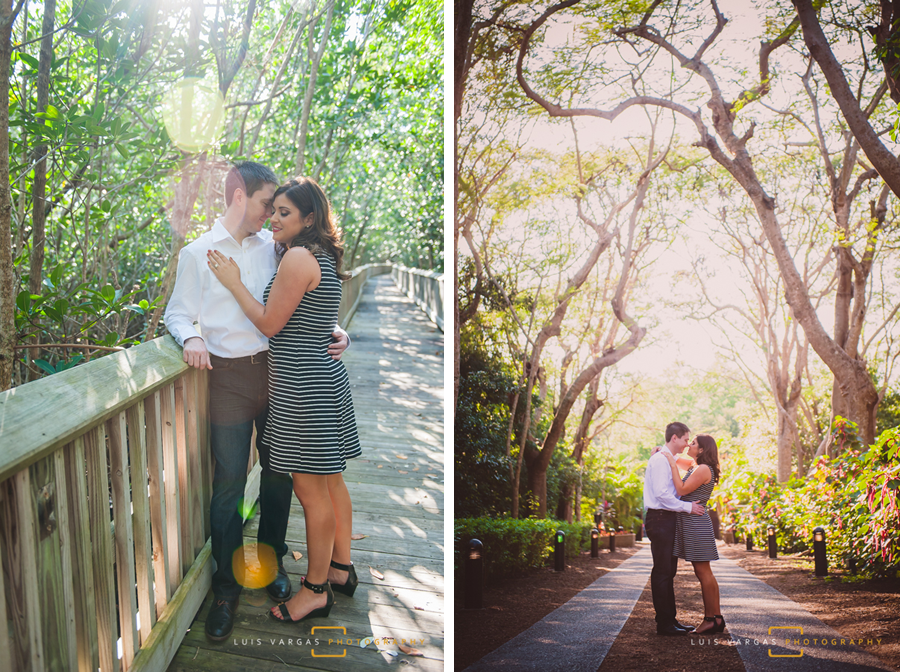 The couple at Deering Estate