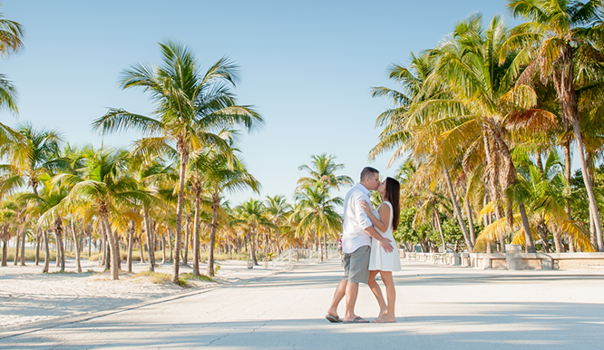 Engagement Session in Miami