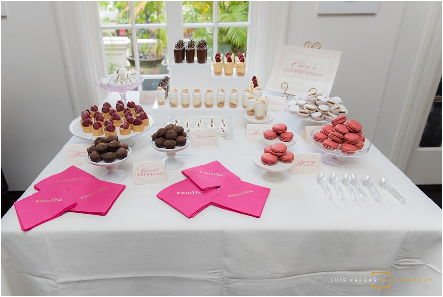 Bridal Shower Dessert Table